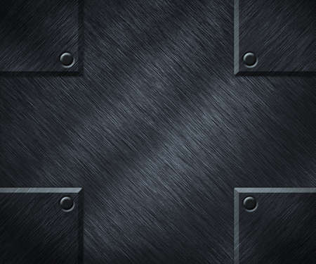 Metal Plate Background Stock Photo - 14844041