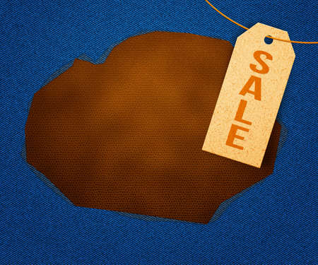 Sale Clothes Label photo