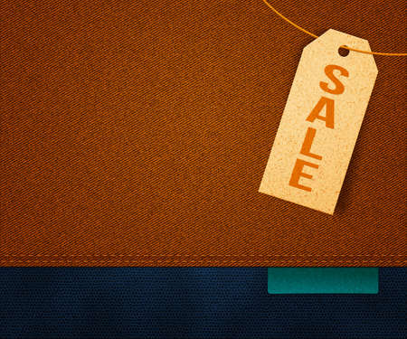 Sale Clothes Label Background photo