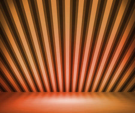 Orange Striped Background Show Room photo
