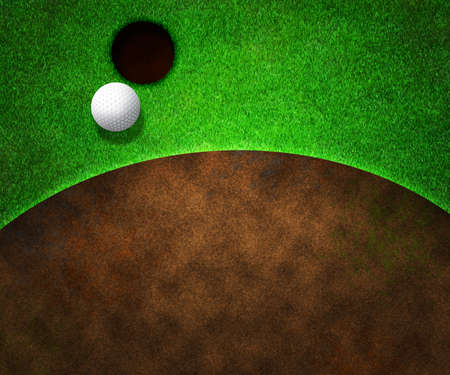 Golf Background Stock Photo - 14939989