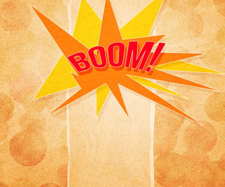 Boom Vintage Background Stock Photo - 15061540