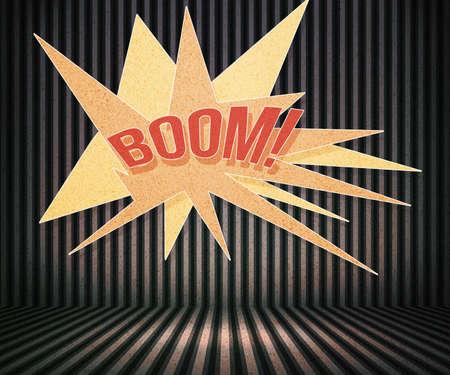 Boom Vintage Room Background Stock Photo - 15061538