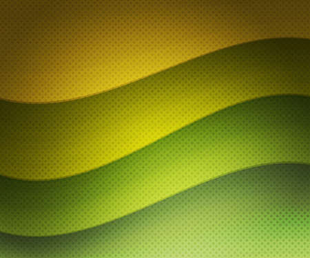 Green Retro Wavy Background photo