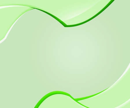 Green Abstract Shapes Clean Background photo