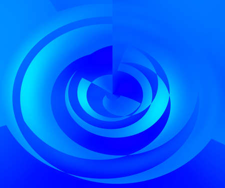 Blue Abstract Swirl Background photo