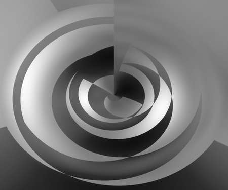 Gray Abstract Swirl Background photo
