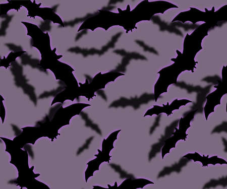 Bats Halloween Background photo