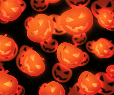 Halloween Evil Pumpkin Background photo
