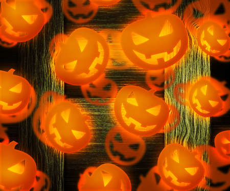 Halloween Pumpkin Background photo