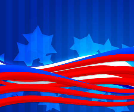 American Independence Day Abstract Background Stock Photo - 15519239