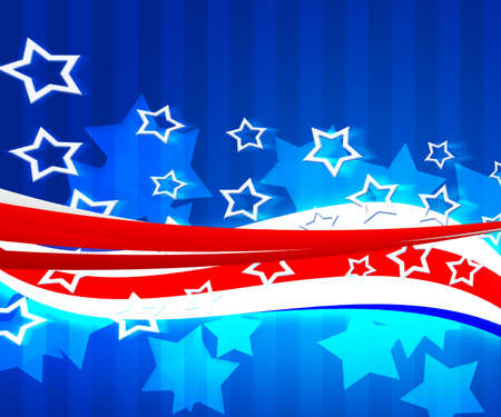 American Independence Day Background Stock Photo - 15519252