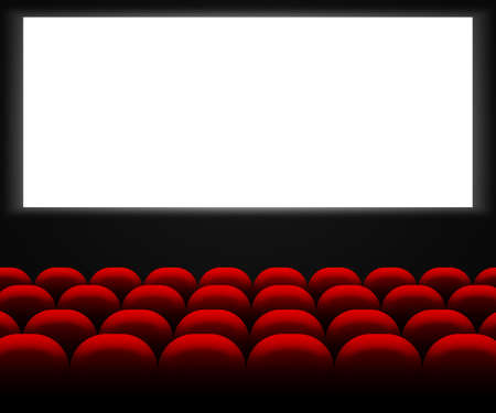 famous industries: Cinema Hall Background