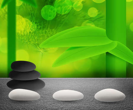 Spa Stones Background photo