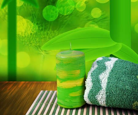 Green Spa Background photo