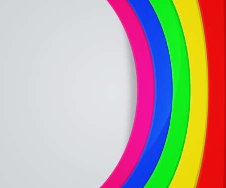 Rainbow Shapes Background photo