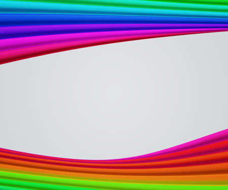 Rainbow Frame Shapes Background photo