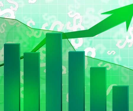 Green Economic Background photo