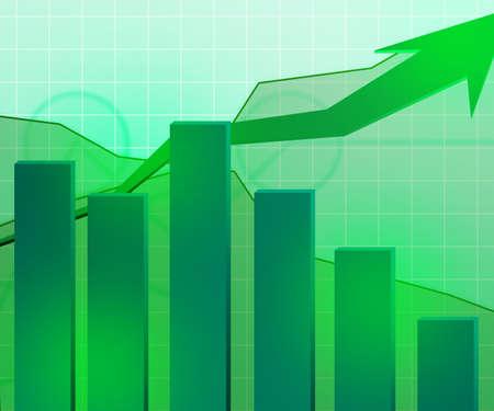 Green Economic Growth Background photo