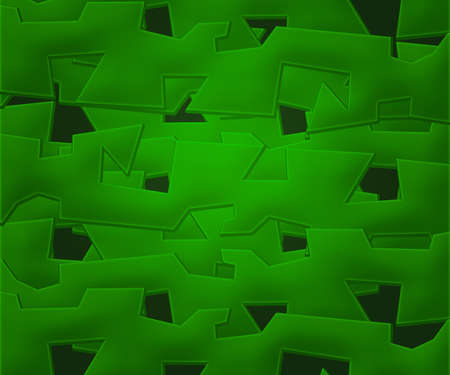 Green Abstract Shapes Background Stock Photo - 16755509