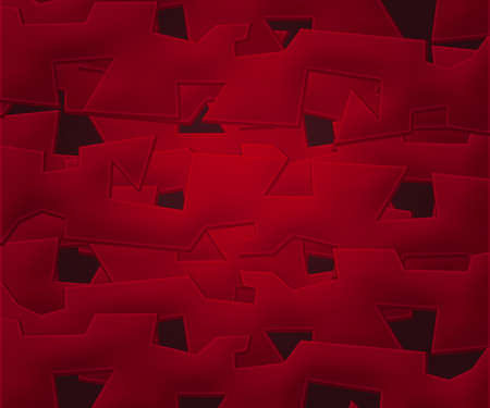 Red Abstract Shapes Background photo