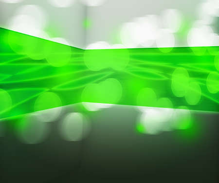 Green Data Transfer Abstract Background Stock Photo - 16755500