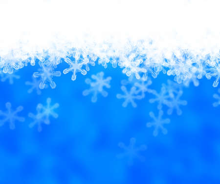 Blue Abstract Snow Background photo