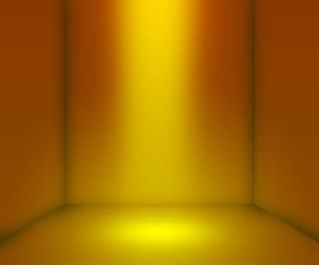 Yellow Empty Interior Background photo