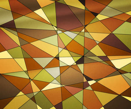Orange Stained Glass Texture photo