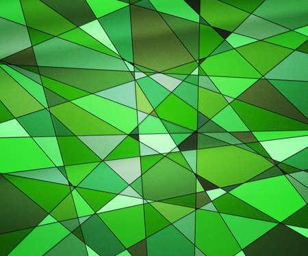 Green Stained Glass Texture photo