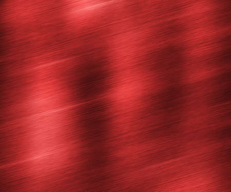 Red Brushed Metal Texture Stock Photo - 17559616