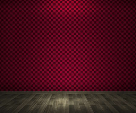 Empty Red Room Background photo