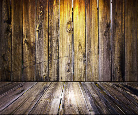 Yellow Wooden Floor Background Stock Photo - 17932796