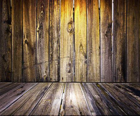 Yellow Wooden Floor Background Stock Photo - 17932796