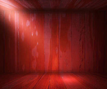 Wooden Spotlight Room Background Red Texture photo