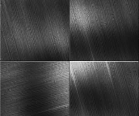 Metal Plates Background Texture Stock Photo