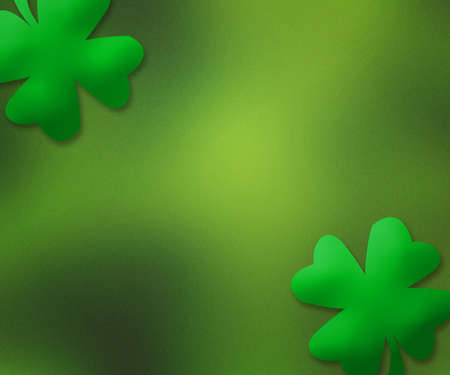 Green St. Patrick's Day Simple Background photo