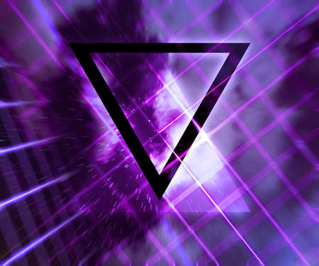 daft: Violet Daft Punk Abstract Background Stock Photo
