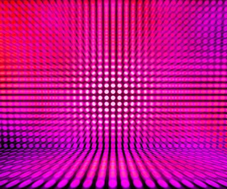 leds: Pink Leds Luz de la etapa de fondo