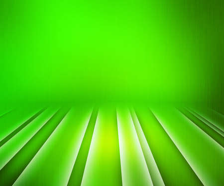 Glowing Stripes Green Stage Background photo