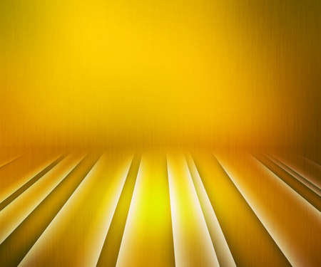 Glowing Stripes Yellow Stage Background photo