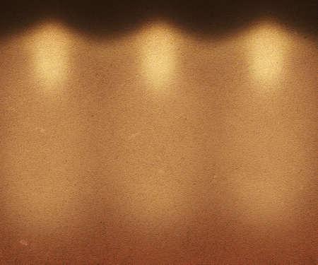 Orange Illuminated Wall photo
