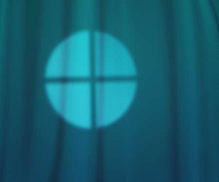 Window Lights Teal Studio Texture photo
