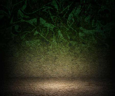 Green Grunge Spotlight photo