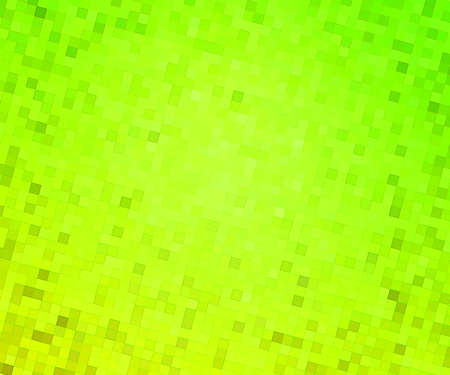 Green Pixels Background photo