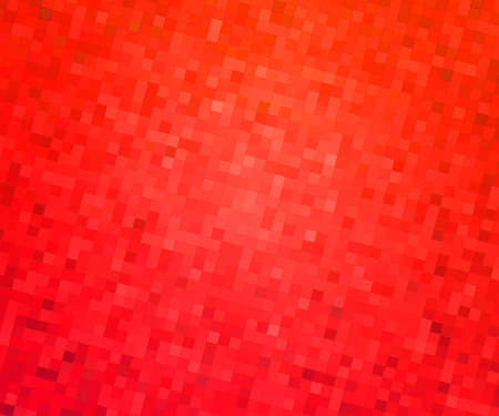 Red Pixels Mosaic Texture photo