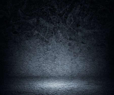 Gray Grunge Spotlight