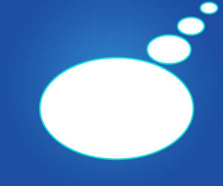 Chat Bubbles Background photo