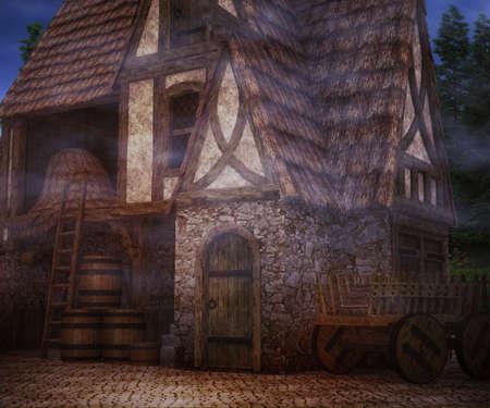 Scary Tavern Achtergrond