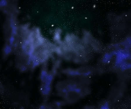 Dark Nebula Outer Space Backdrop Stock Photo - 21138481